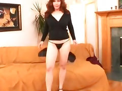 Redhead mom sucking and fucking tube porn video