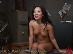 Asa Akira Gets Double Penetrated and Cum Bathed in Gangbang tube porn video
