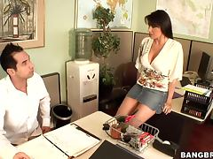 Hot banging between co workers in the office involves everything tube porn video