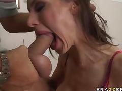 MILF Doctor McKenzie Lee Tasting Cum After tube porn video