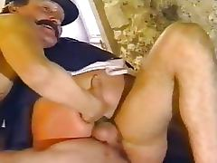 Kinky Lesbian Nuns Get Fucked and Facialized in Threesome Retro German Porn tube porn video