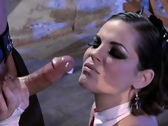 Kinky Teacher Bobbi Starr Fucks For a Lesson In Leather School tube porn video