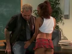 Kinky Pigtailed Asian Schoolgirl Kaylani Lei Fucked By Her Teacher tube porn video