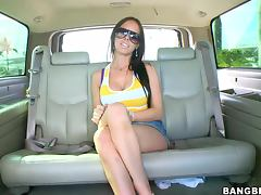 Brandy Aniston's First Sex In A Sex Shop tube porn video