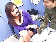 Busty Asian Cutie Gets Fucked and Creampied Twice Uncensored tube porn video