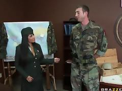 Horny General Jenaveve Jolie Fucking Her Star Soldier tube porn video