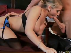 Busty Blonde Babe Madison Ivy Gets Her Pussy Fucked and Creampied tube porn video