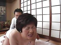 Asian Granny Getting Pleasured tube porn video