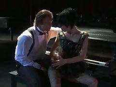 Piano player fucks naughty girl tube porn video