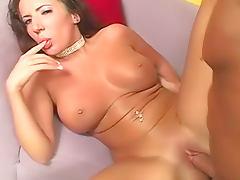 Shiny bikini girl Richelle Ryan fucked tube porn video