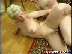 Mature horny MILF get huge young cock tube porn video
