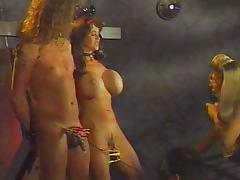 Future femdom session on spaceship tube porn video