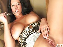 rare solo of Carmella tube porn video
