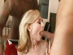 Nina Double Teamed tube porn video