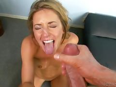 Sheena Shaw the naughty blonde gets fucked in great POV video tube porn video