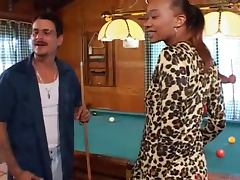 Married Men Gang Banging A Black Chick In Their Log Cabin tube porn video