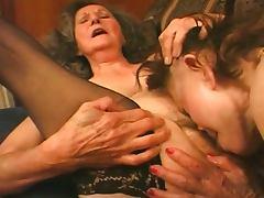 Amazing mature grannies foursome tube porn video