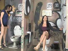 Danica Dillon and Jewels Jade sucking big hard dick tube porn video