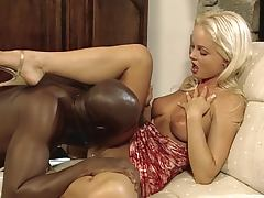 Black on White Silvia Saint tube porn video