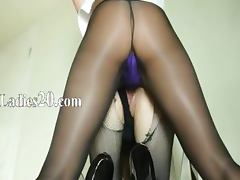 Secret beauties sucking strap on dildo tube porn video