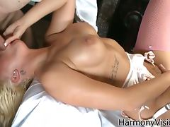 Lissa love get a taste of a meaty belly stick tube porn video