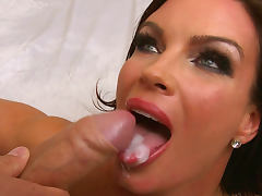 Diamond Foxxx is getting cum over her tongue by Mick Blue tube porn video