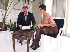 Eva Black sexy milf anal tube porn video