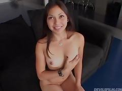 Brooke Milano the sweet Asian girl gets fucked hard tube porn video