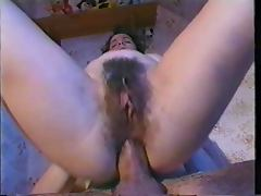 Hot Hairy Anal tube porn video