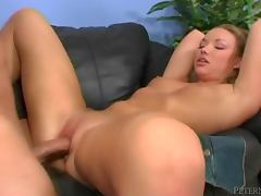 Maya Hills gets her sweet pink pussy ripped apart by Donny Long tube porn video