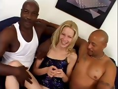 Blonde DP by BBC tube porn video