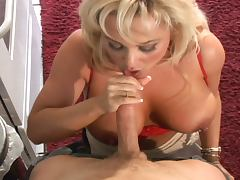 Hot blonde milf rescues a guy and gets nailed tube porn video