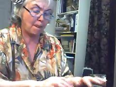 Huge Gran in a Webcam R20 tube porn video