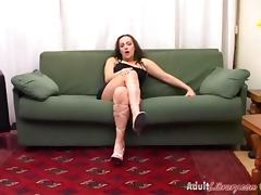 Italian Teens videos. Young Italian chicks cramming fingers in pink slits drilling with vibrators and dicks