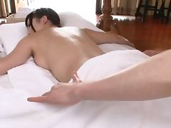 Oiled Up Asian MILF Gets Massaged and Fucked Hard and Deep tube porn video