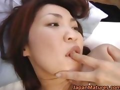 Horny japanese mature babes sucking part4 tube porn video
