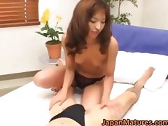 Horny japanese mature babes sucking part5 tube porn video