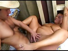 Chubby Ponytailed Asian Pony Ginger Fucked In Her Stable tube porn video