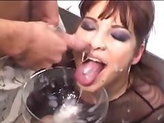 sexy cum drinker tube porn video