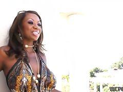 Stylish Looking Ebony Milf Gets Amazing Anal Action tube porn video