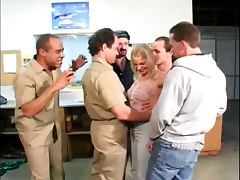 Gangbang videos. Gangbang is always full of endless moans pleasure and bright orgasms