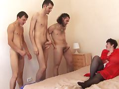 patricia gangbanged tube porn video