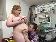 Golden Haired big beautiful woman Mother I'd Like To Fuck with the Repairman tube porn video