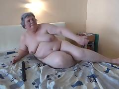 Grannies BBW videos. 2 Young Guys Fuck hot Granny plus give Cumshots