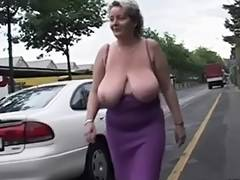 Solo 2 Aged big beautiful woman with Large Scones tube porn video