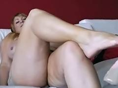 Samantha 38G solo tube porn video