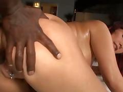 Horny carrie ann loves black dick in her ass tube porn video