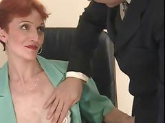 Short Hair videos. Short haired brunette stewardess gets fucked by one of the passengers