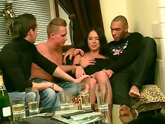 bang sex with a youthful brunette hair tube porn video