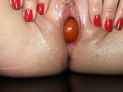 Unbelievable cunt playing in kitchen tube porn video